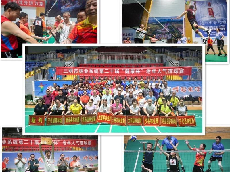 """三明市林业系统举办第20""""健康杯""""老年人气排球赛.jpg"""