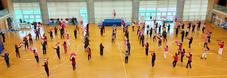 大田县老体协举办第八套健身秧歌辅导员培训班 小.JPG