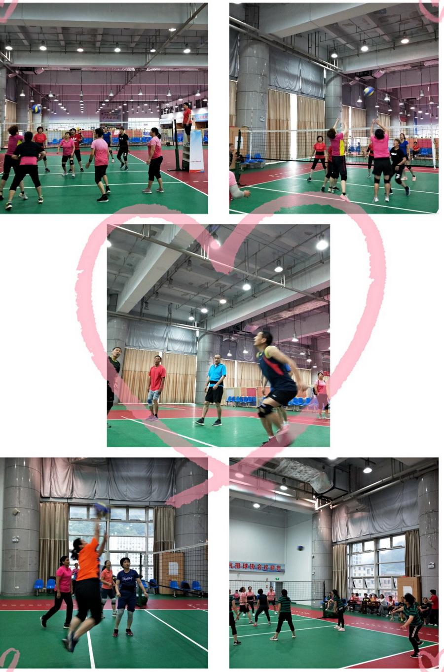 """大田县老体协气排球俱乐部举办第二季度""""红旗""""赛 小.jpg"""