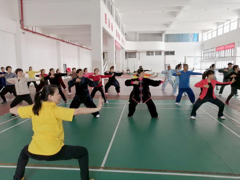 泰宁县老体协举办健身气功辅导员培训班1.jpg