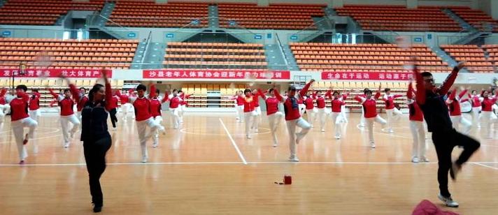 沙县老体协举办迎新年柔力球培训班1.jpg